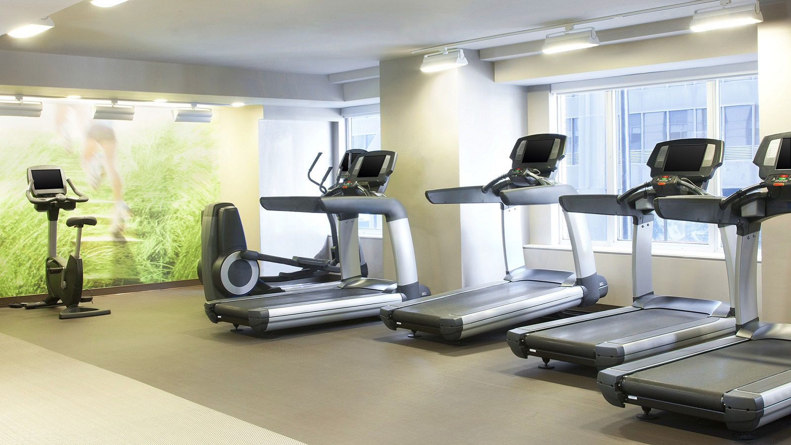 Hotel Features include a fitness center and runwestin program