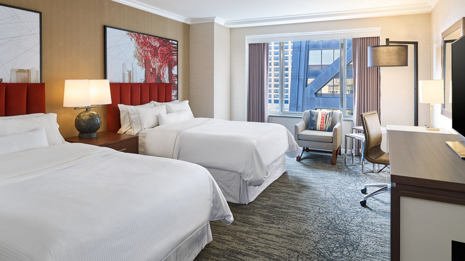 Deluxe Guest Room at The Westin Michigan Avenue Chicago