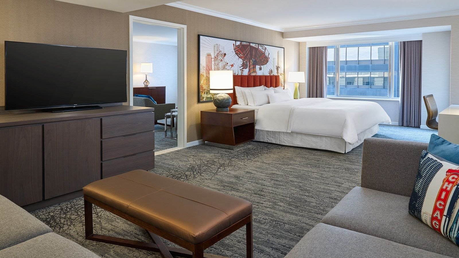 Starwood Suites The Westin Michigan Avenue Chicago